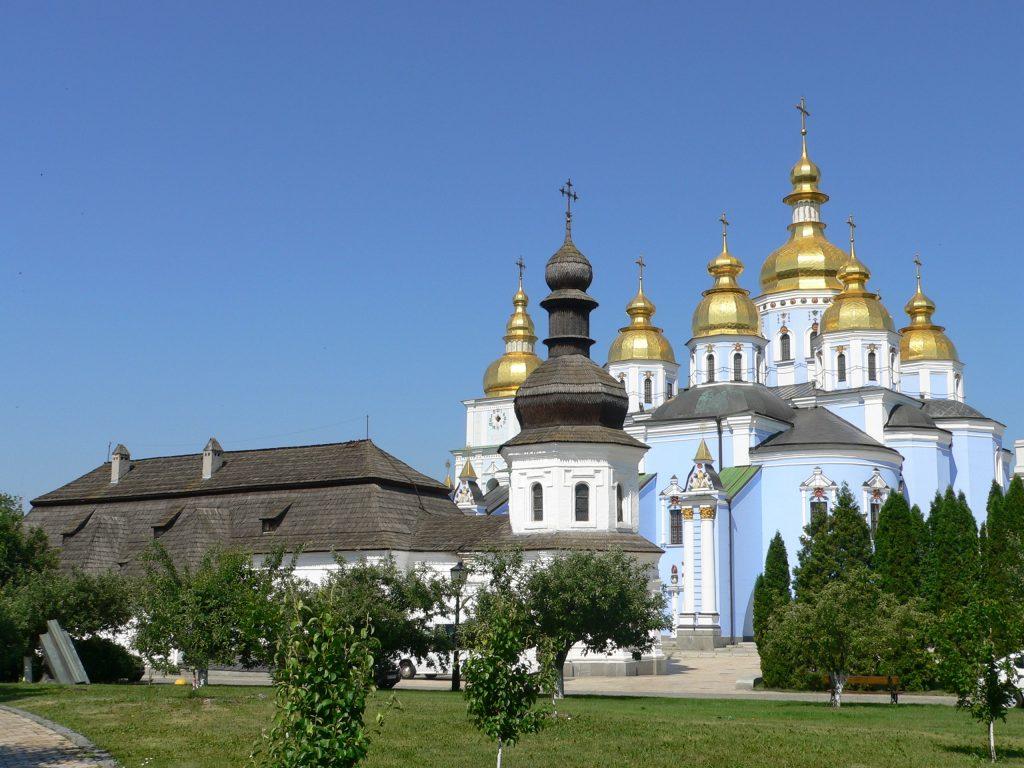Kyjev,chrám sv.Michala