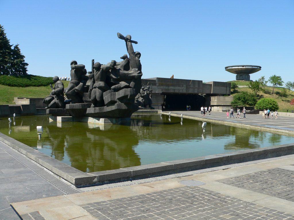 Kyjev,Galerie hrdinům války