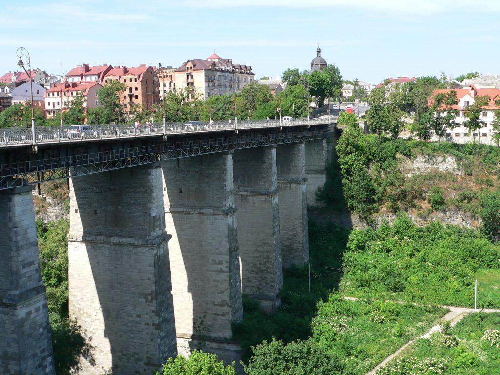 Kamenec Podolský,Novoplanivský most