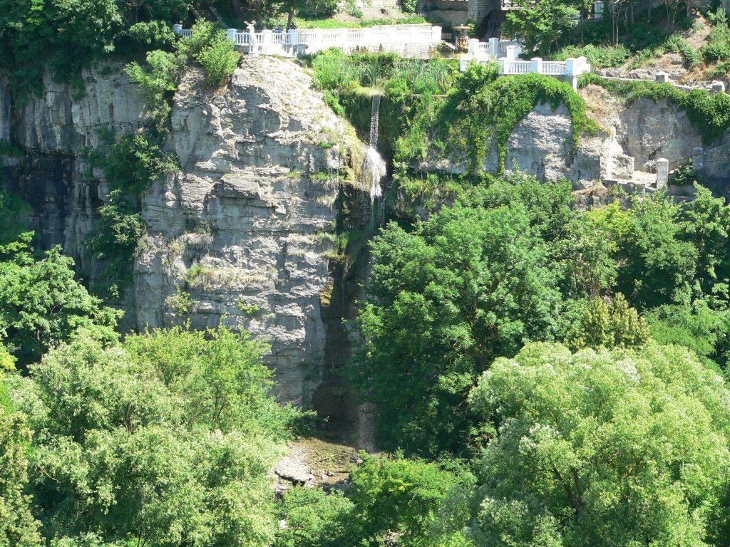 Kamenec Podolský,vodopád