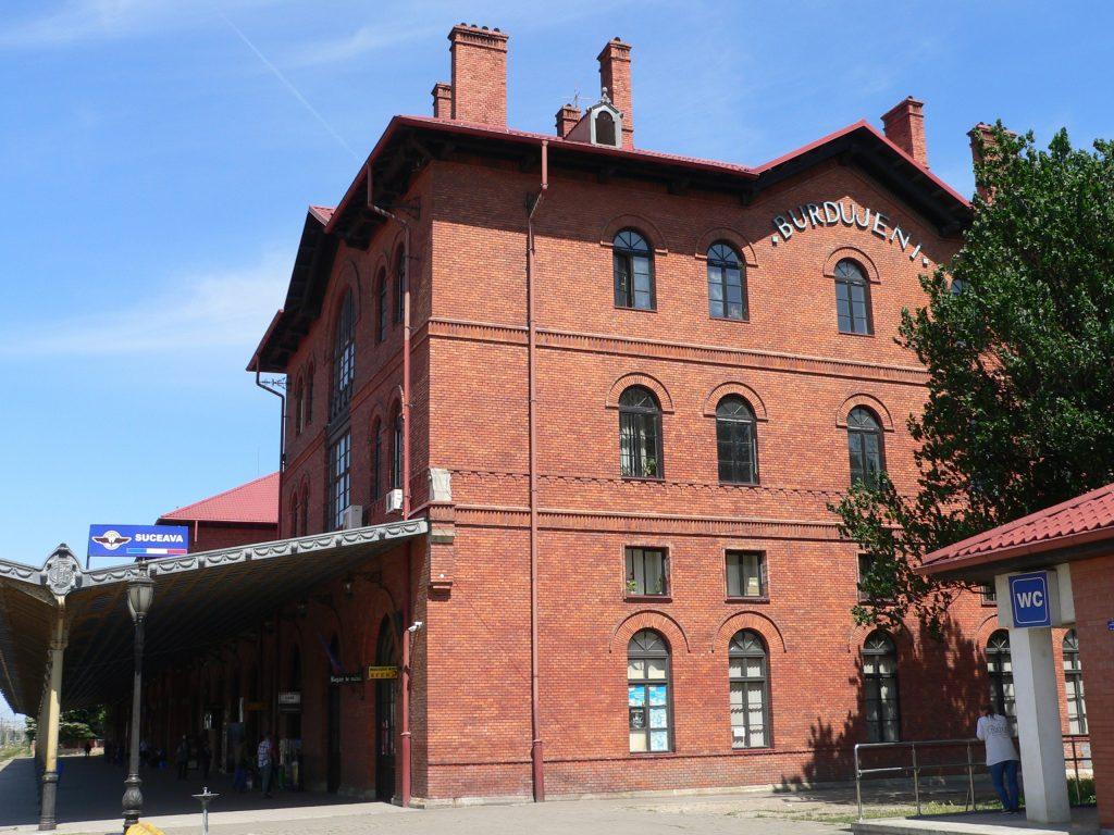 Suceava Burdujeni,hlavní nádraží
