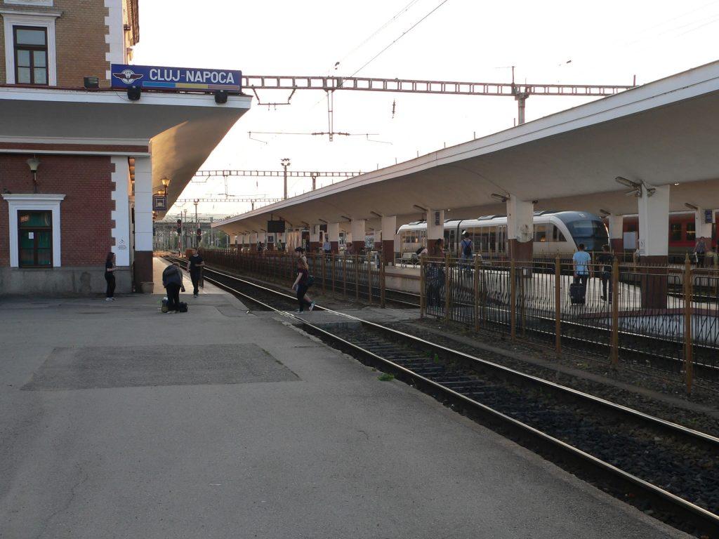 Kluž,vlakové nádraží