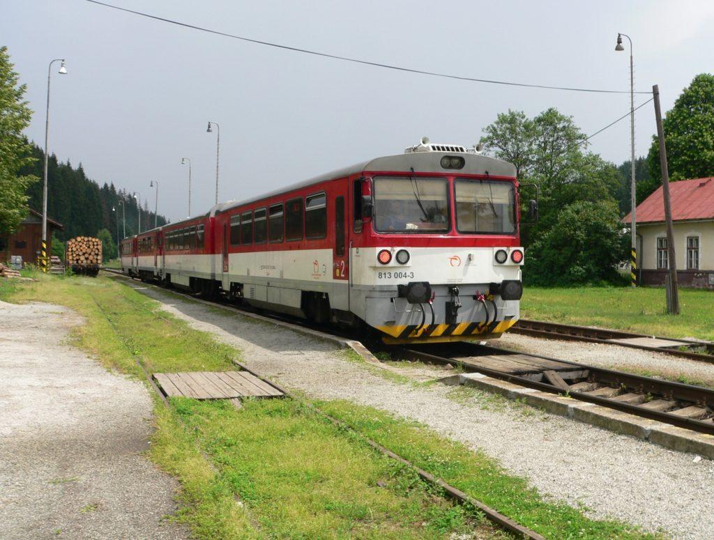 Makov,osobní vlak