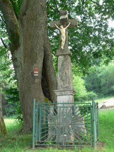 Vrchrieka,křížek na rozcestí