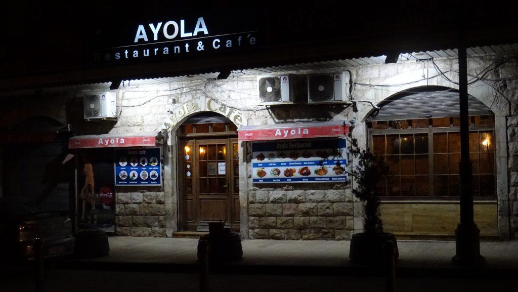 Madaba,restaurace Ayola Café