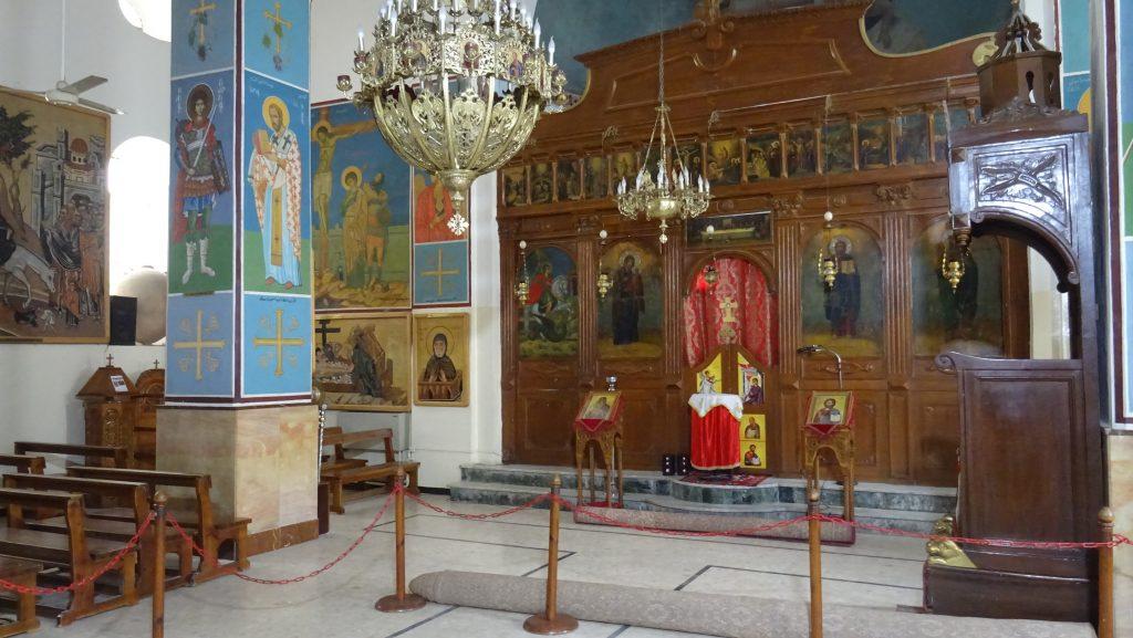 Madaba,kostel sv.Jiří