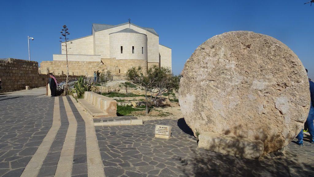 Hora Nebo,Pamětní kostel Mojžíše