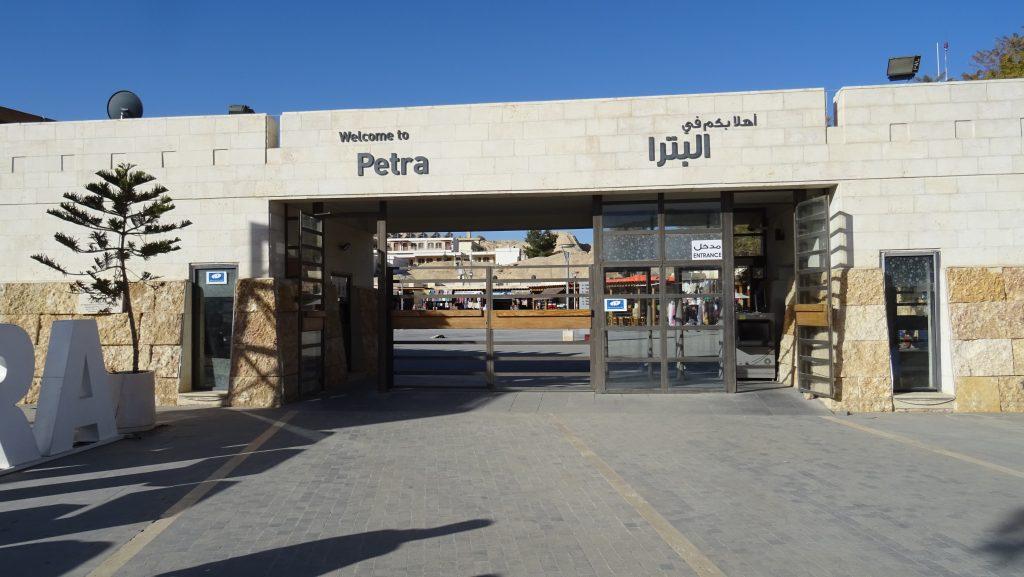 Petra,vstup