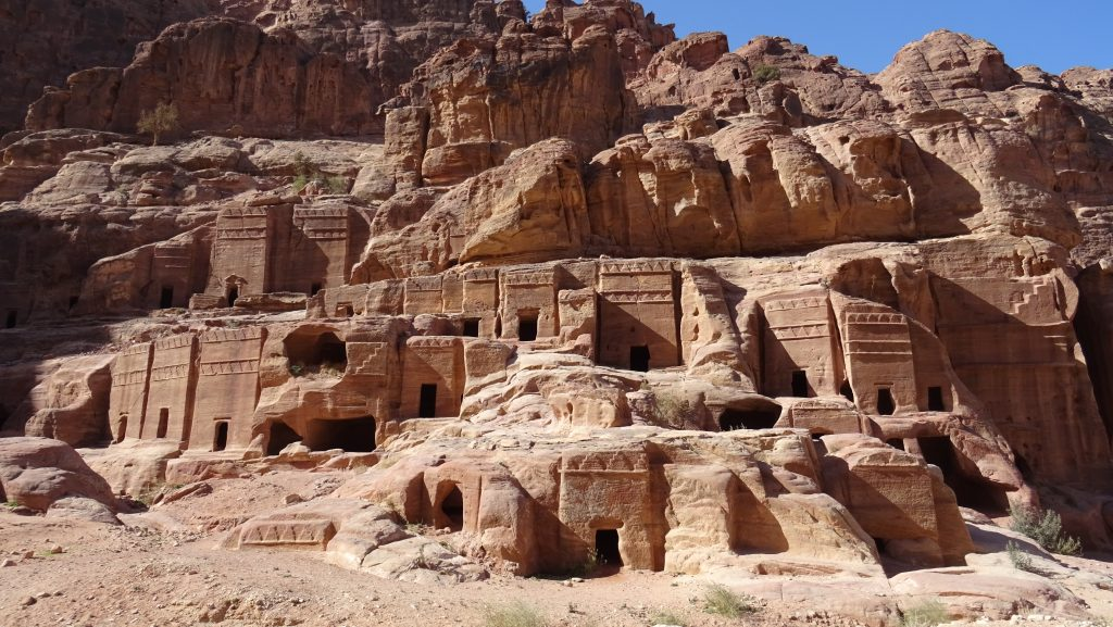 Petra,Street of Facades - Tombs