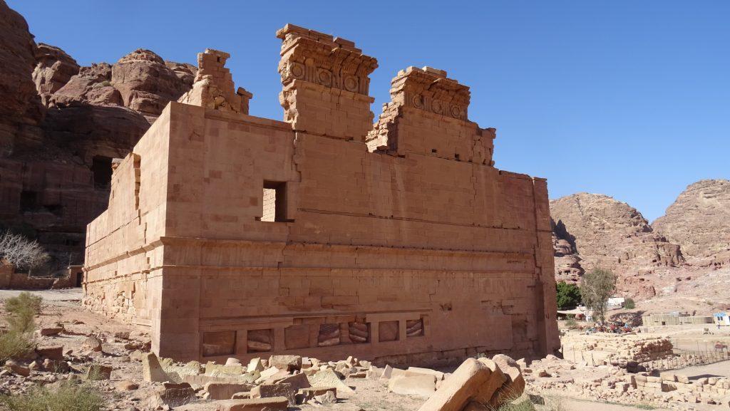 Petra,Qasr al-Bint