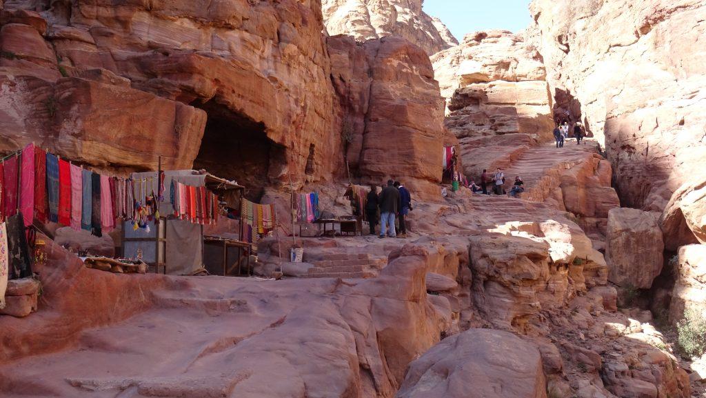 Petra,schody k Ad-Deir