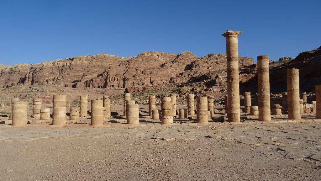 Petra,Great Temple