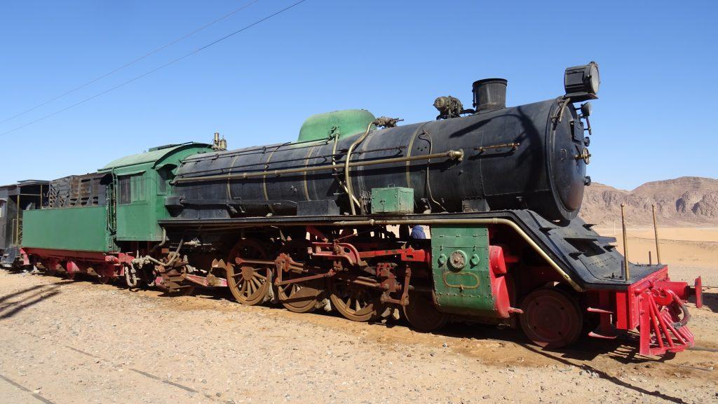 Wadi Rum,nádraží