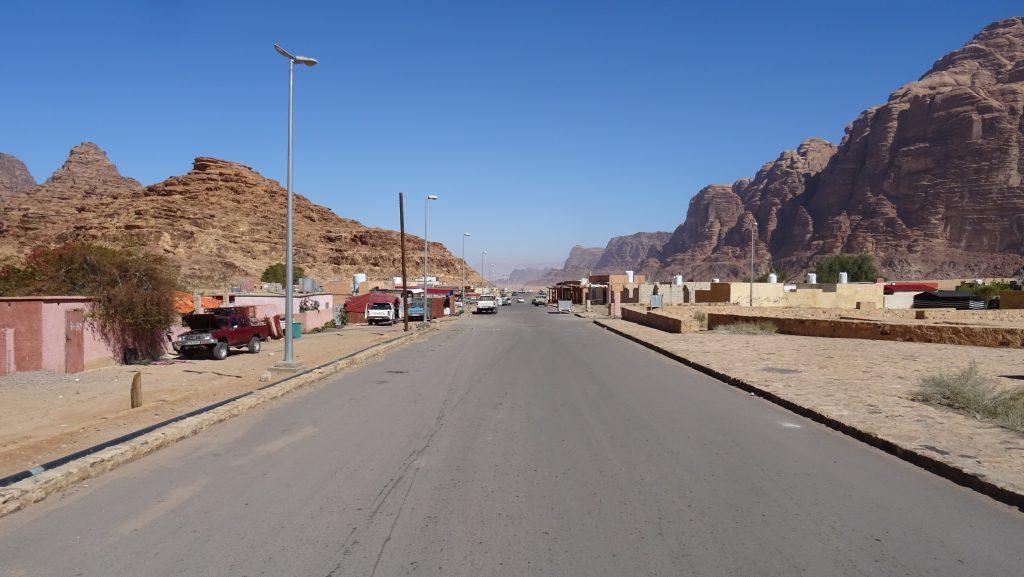 Wadi Rum,vesnice