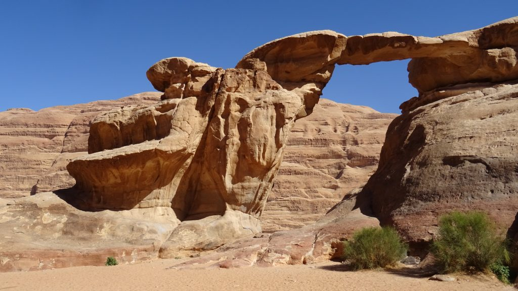 Wadi Rum,Um Fruth Rock Bridge