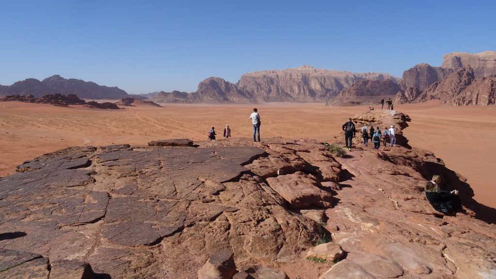 Wadi Rum,Little bridge