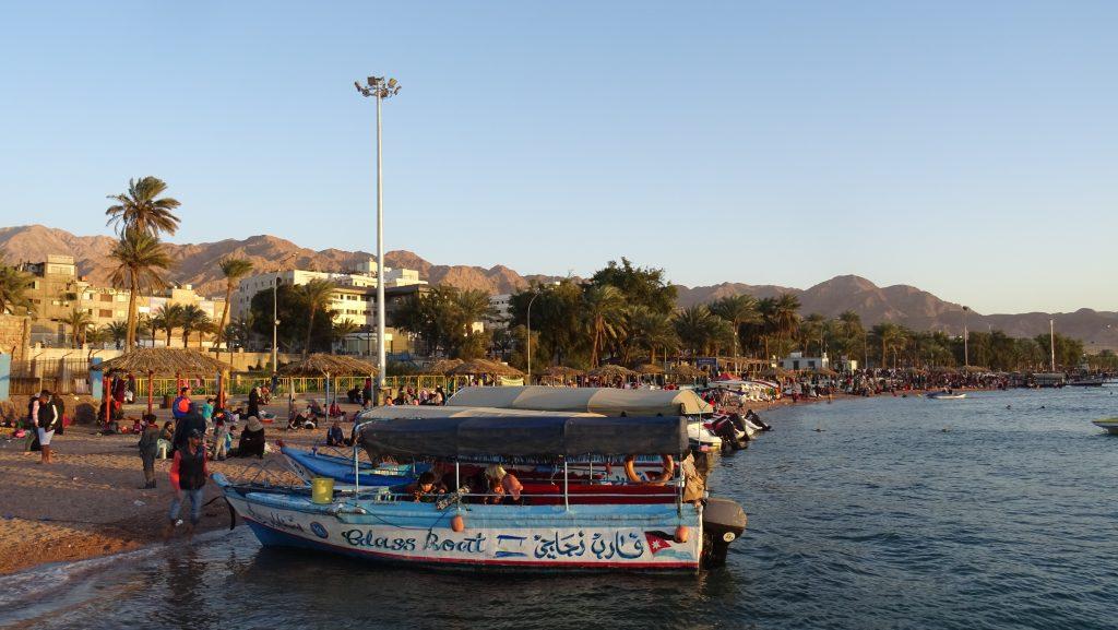 Aqaba,městská pláž