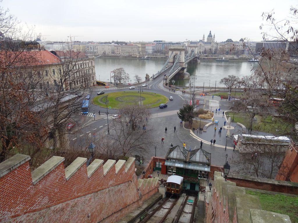 Budapešť,funicular