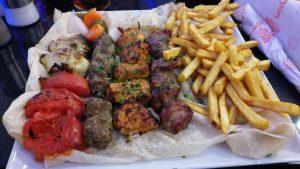 Wadi Musa,restaurace Beit Al-Barakah,večeře