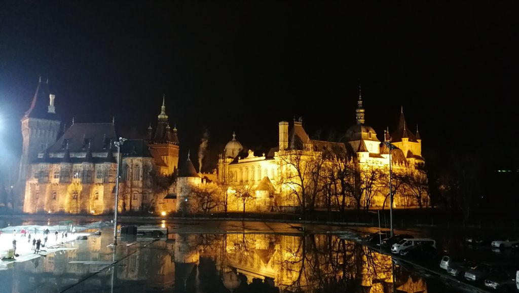 Budapešť,Vajdahunyad Castle
