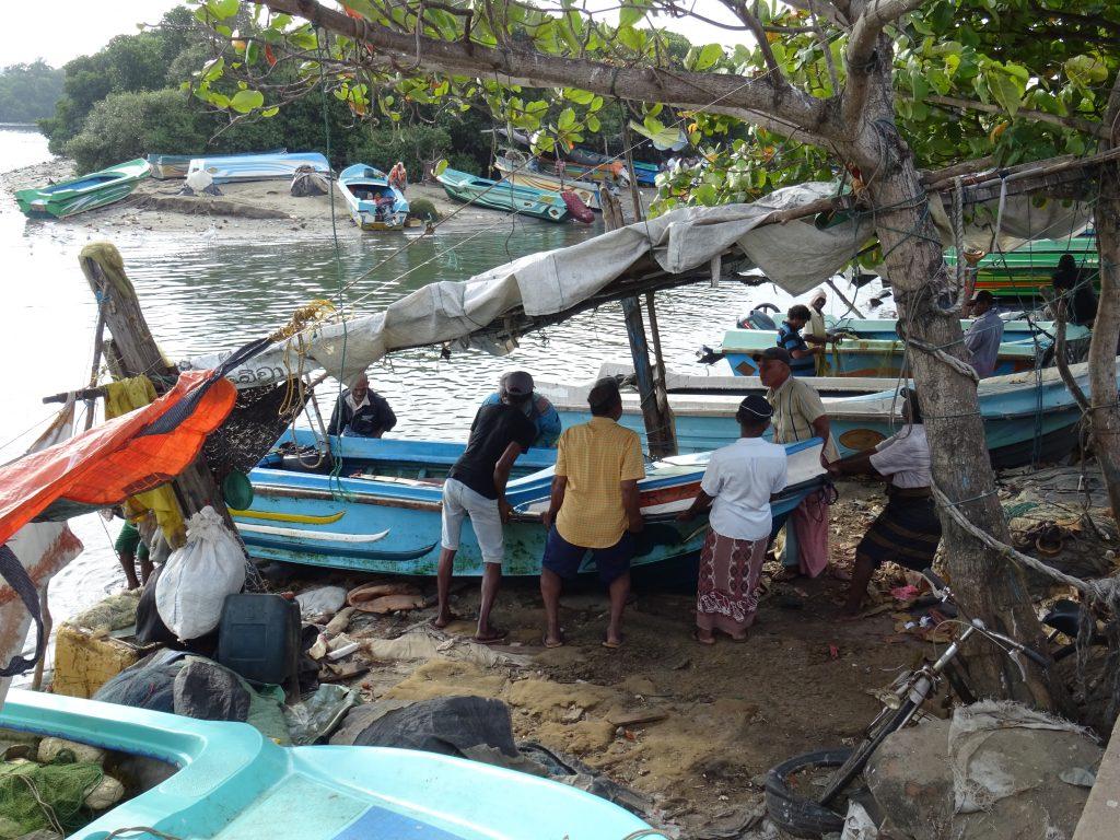 Negombo,rybářská čtvrť