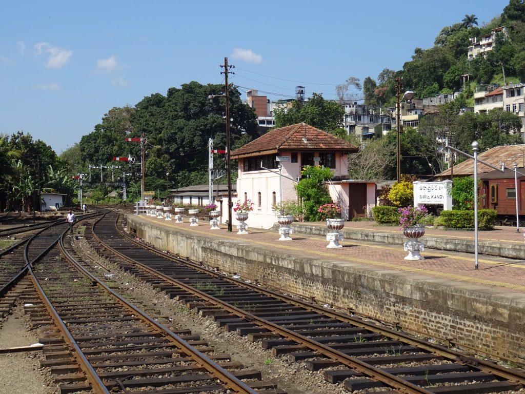 Kandy,nádraží