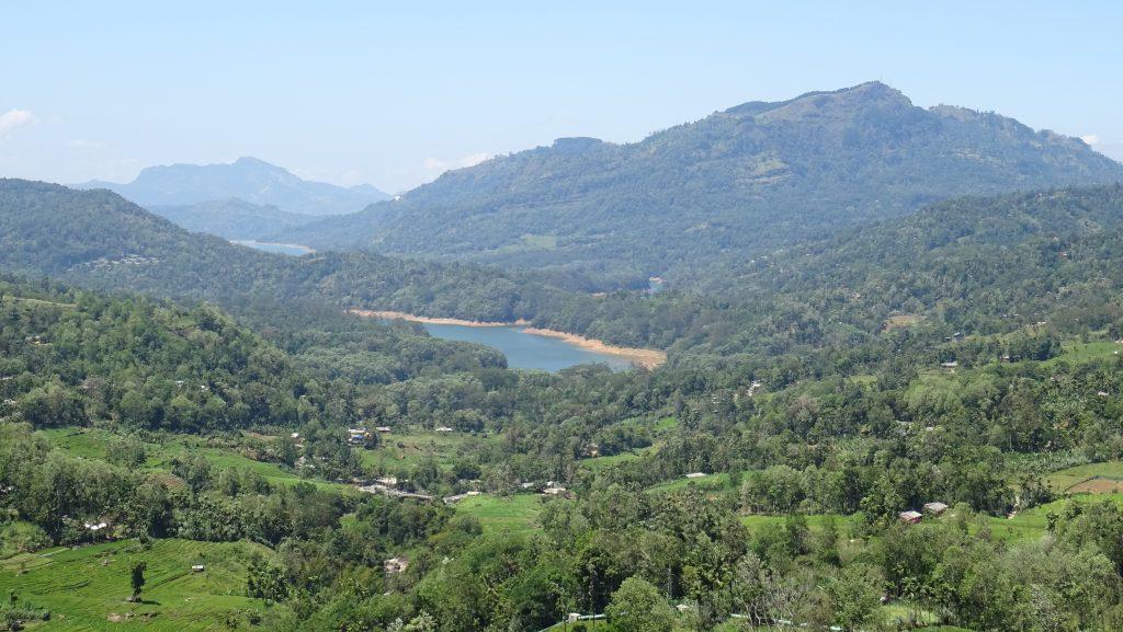 přehrada Kotmale