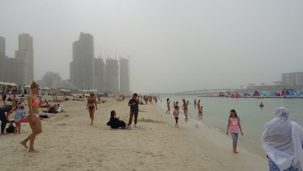 Dubaj,Marina Beach