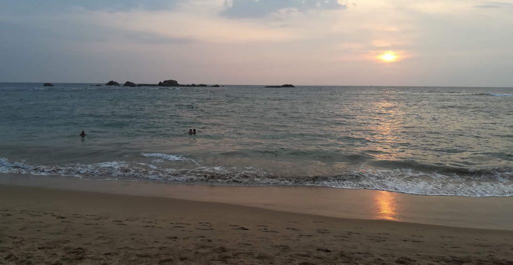 Hikkaduwa,pláž