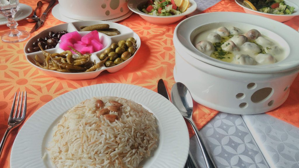 Dubaj,restaurace Al Bait Al Shami