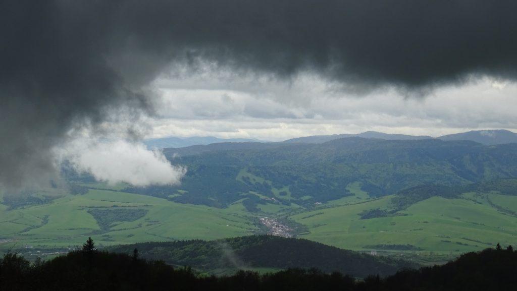 výhled z Minčolu