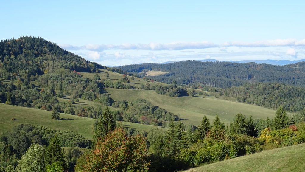 vyhlídka nad obcí Strelníky