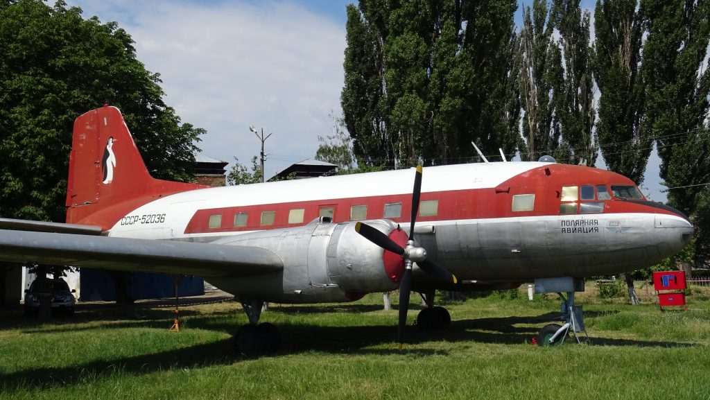 Letecké muzeum Žuljany,Il-14