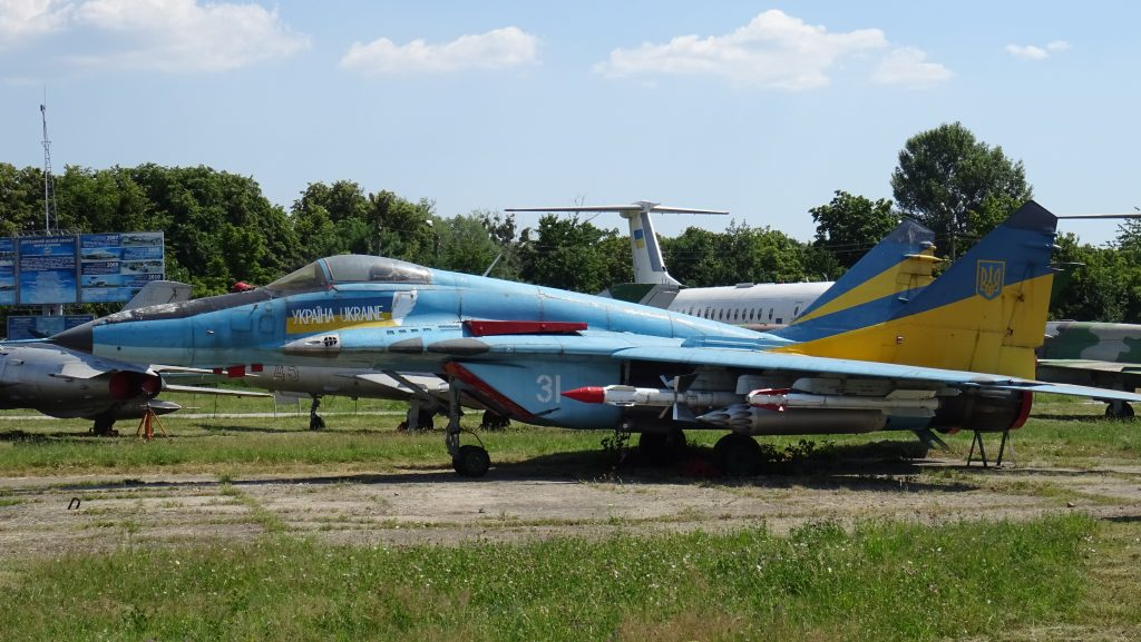 Letecké muzeum Žuljany,MiG-29