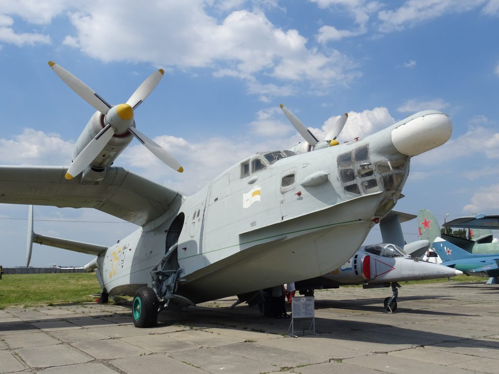Letecké muzeum Žuljany,Be-12