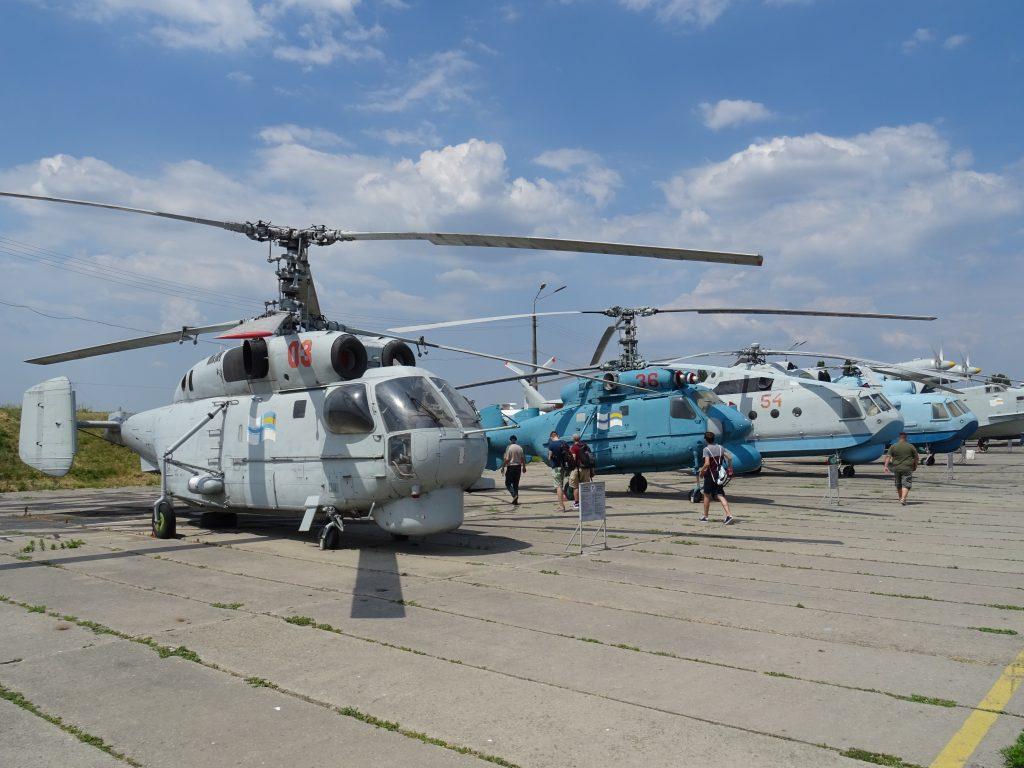 Letecké muzeum Žuljany,Ka-27,Ka-25,Mi-14