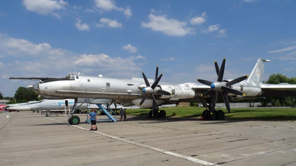 Letecké muzeum Žuljany,Tu-142