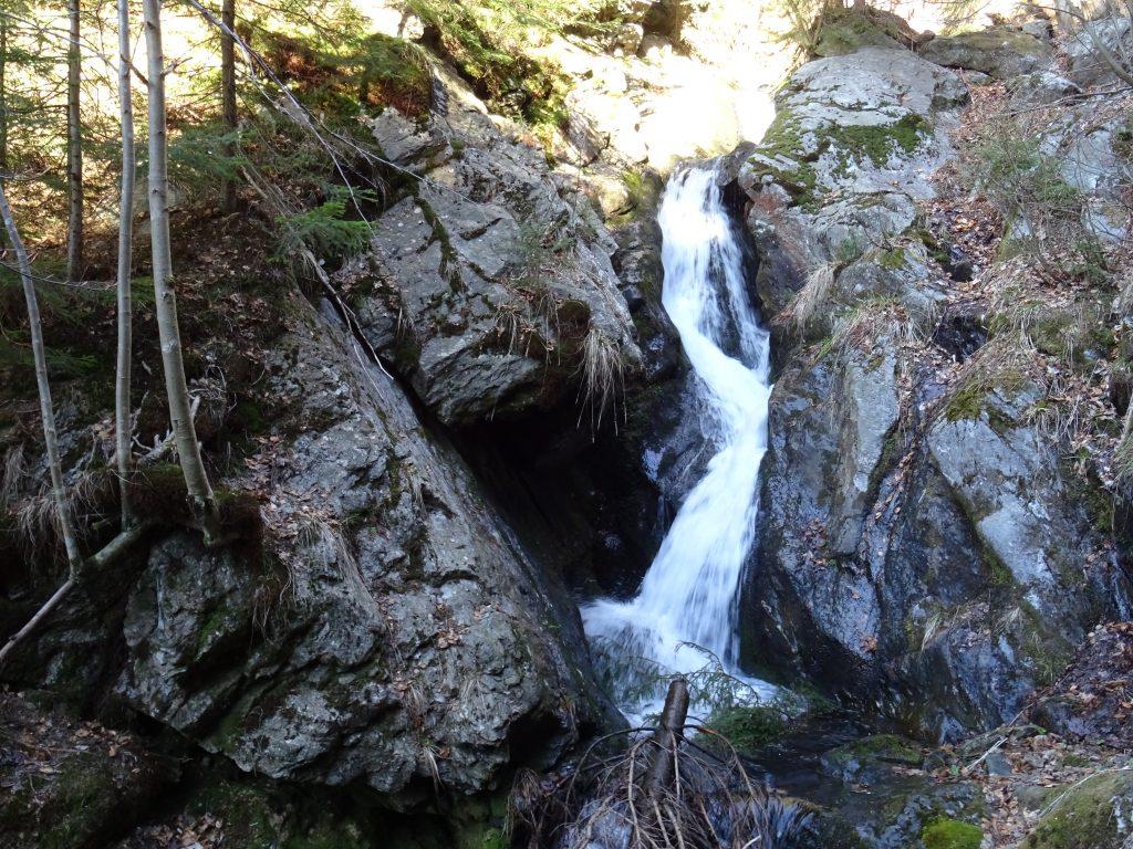 vodopád Pod Strašidly