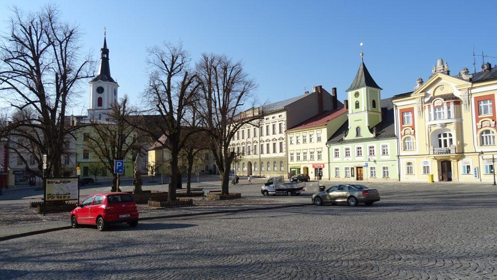 Králíky,Velké náměstí