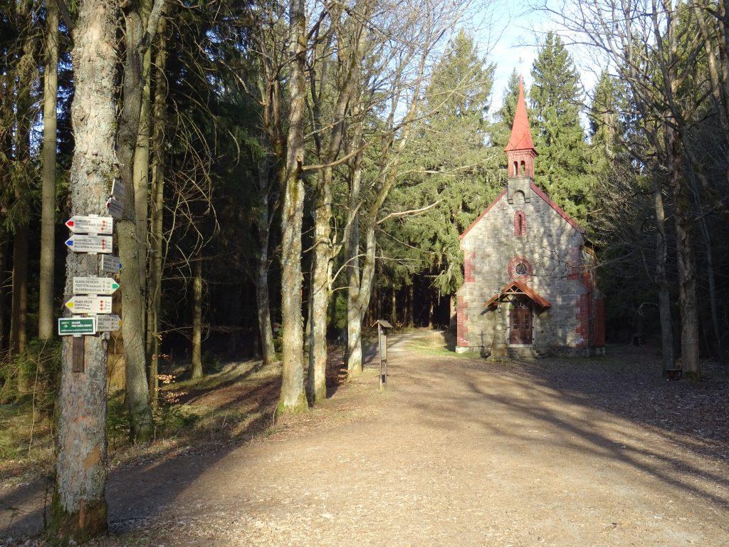 poutní kaple Nejsvětější Trojice