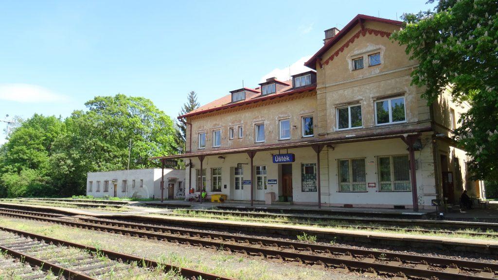 Úštěk,nádraží