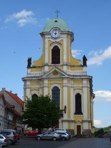 Úštěk, kostel sv.Petra a Pavla
