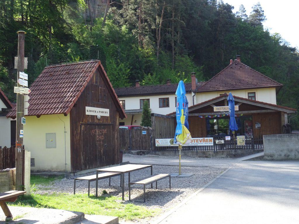 Restaurace Pobuda pod hradem Kokořín