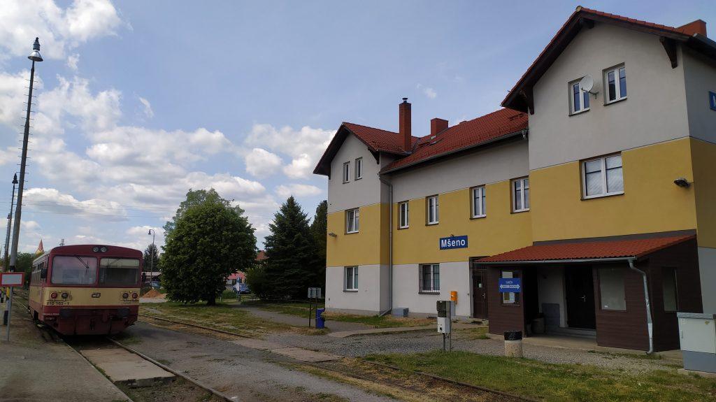 Mšeno,nádraží