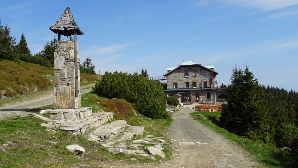 Šerák,turistická chata