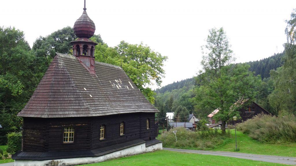 Klepáčov,kostelík sv.Jana Nepomuckého