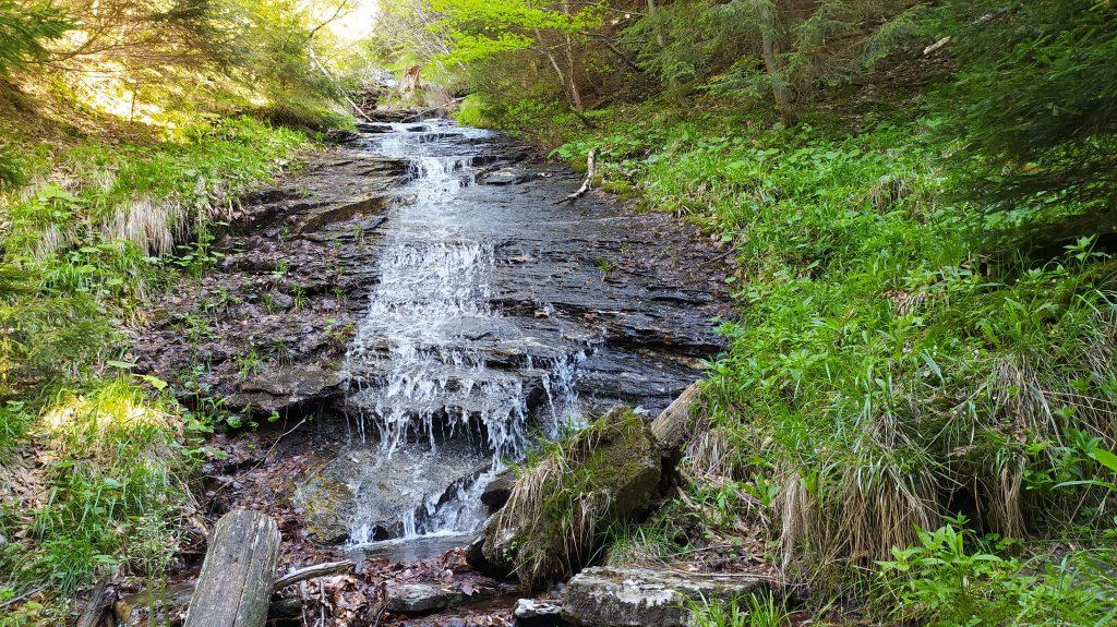 vodopád pod Obřími skálami
