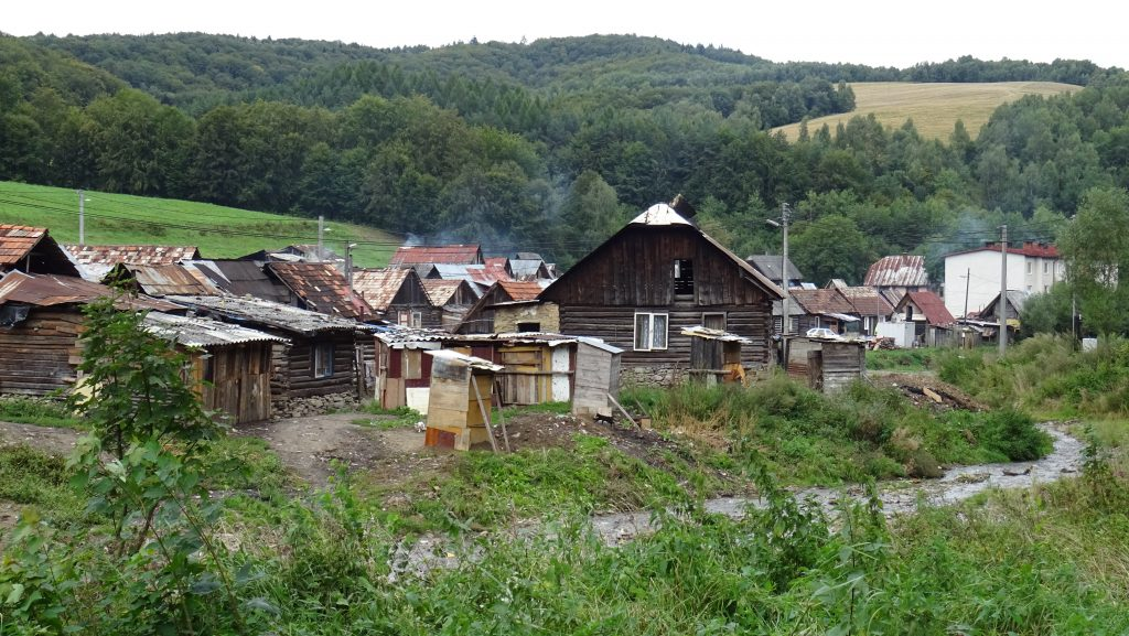 Lenartov,romská osada