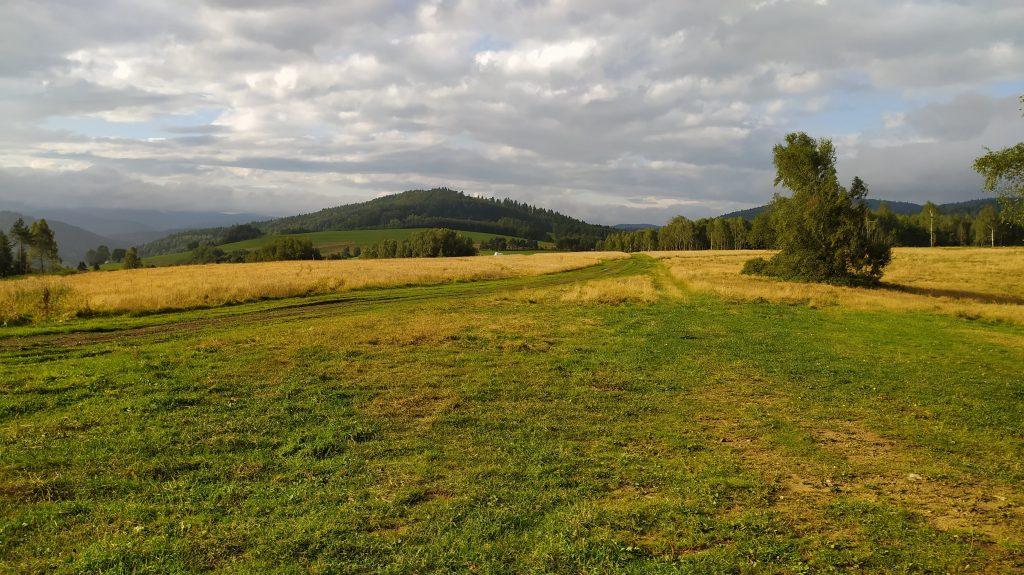 Lenartov,útulňa Kráľova studňa - výhled na vrch Pusta(822m)