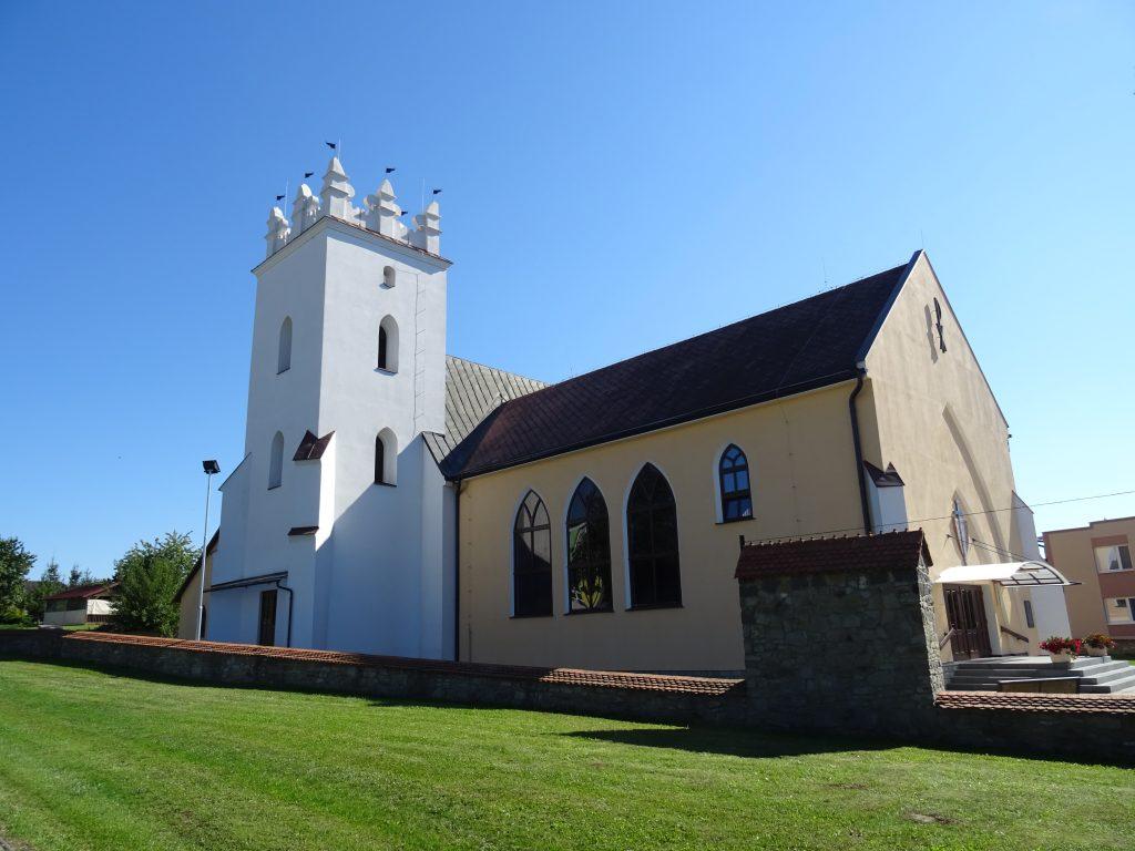 Osikov,kostel sv.Michaela archanděla